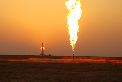 Oil Field Situated in Iraq